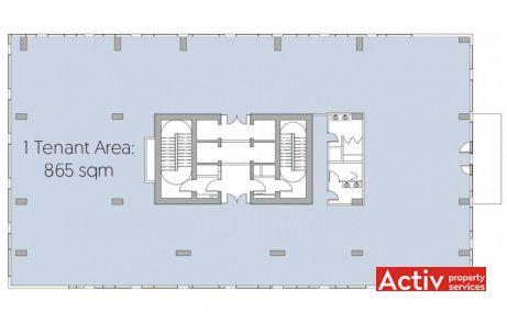 Ștefan cel Mare Building plan clădire - închirieri birouri zonă centrală în București zona Ștefan cel Mare