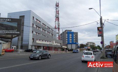Danielle Business Center imagine de pe Strada Valea Cascadelor - spatii birouri metrou Pacii, oferta actualizata 2018