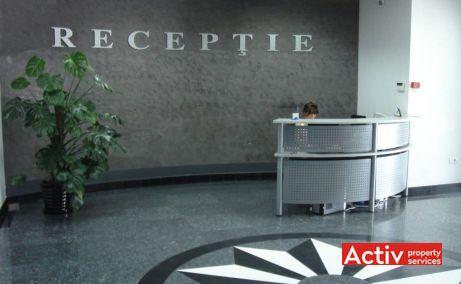 TMK Business Center imagine interior receptie cladire – spatii birouri mici in nordul Bucurestiului