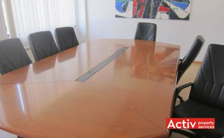 Metalurgiei 87 inchirieri birouri ieftine in sudul Bucurestiului pe Bulevardul Metalurgiei, fotografie interior sala de sedinte