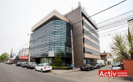 Cladire birouri Gheorghe Titeica imagine de pe Strada Gheorghe Ţiteica 142 - ofera spatii birouri in zona nord a Bucurestiului