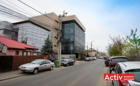 Inchirieri spatii birouri mici pe Strada Gheorghe Ţiteica 142 in Bucuresti nord, vedere stradala
