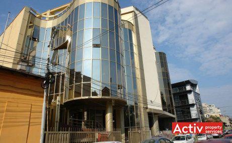 Gematex - închirieri birouri București în zona Piața Victoriei, vedere stradală din Strada Scărlătescu