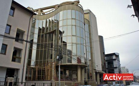 Clădirea de birouri Gematex zona Piaţa Victoriei oferă spre închiriere spații de birouri, perspectiva stradală