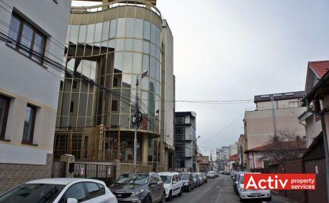 Gematex vedere din Stradă Scarlatescu – închiriere birouri zona centrală