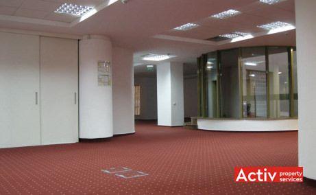 Închirieri spații birouri metrou Piața Victorie vedere Strada Scarlatescu, vedere interioară clădire Gematex
