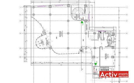Gematex închiriază spații de birouri metrou Victoriei, zona centrală, plan etaj