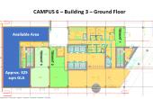 Campus 6 spatii birouri Bucuresti vis-a-vis metrou Politehnica - plan parter