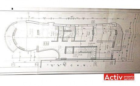 Emanoil Porumbaru 89 inchiriere birouri nord, plan general