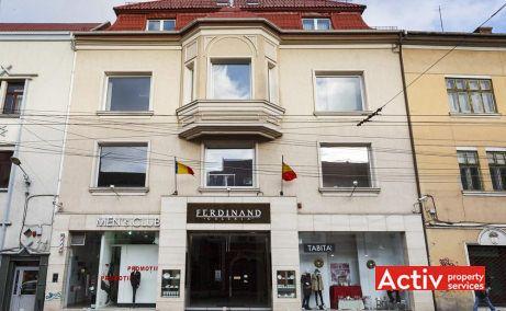 Ferdinand Building închiriere birouri centru Cluj-Napoca vedere fațadă
