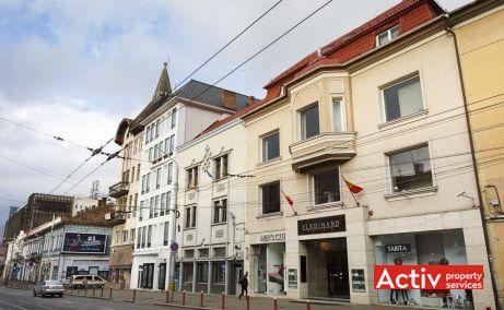 Ferdinand Building birouri de închiriat Cluj-Napoca central vedere stradală