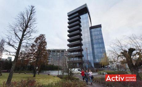 United Business Center Tower birouri de închiriat Cluj-Napoca vedere parc Iulius