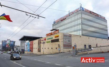 Iulius Business Center spații de birouri Cluj-Napoca Iulius Mall perspectivă zonă
