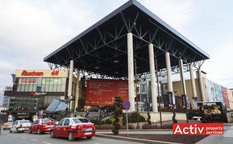 Iulius Business Center birouri de închiriat Cluj-Napoca vedere Iulius Mall
