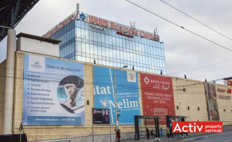 Iulius Business Center închirieri spații birouri Cluj-Napoca imagine din strada Alexandru Vaida Voevod