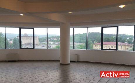 Granit Business Center spații de birouri Iași fotografie interior open space