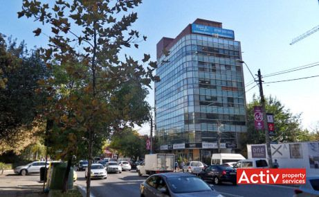 Aurel Vlaicu Office Building spații birouri zona nord vedere exterioară din sos Pipera