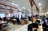 ZIDULUI 5 birouri de închiriat Sibiu central fotografie interior open space