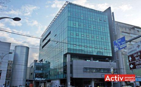Mecano Center spații birouri zona centrală Piața Romană imagine fațada clădirii