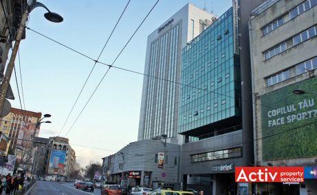 Mecano Center birouri de închiriat în București ultracentral Piața Romană ASE