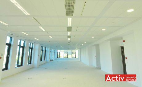 Timpuri Noi Square spatii de birouri metrou Bucuresti central, vedere interioara cladiri existente