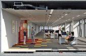 Timpuri Noi Square spatii de birouri Bucuresti metrou, dotari spatiu interior