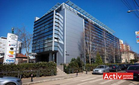 Centrul de Afaceri Nord închirieri spații birouri București nord vedere intrare