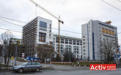Vivido Business Center spatii de birouri de inchiriat Cluj-Napoca imagine cladire de ansamblu