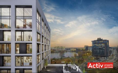 Vivido Business Center birouri de inchiriat Cluj-Napoca est imagine prezentare cladire
