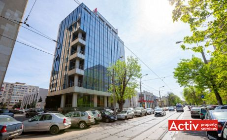 Iptana, vedere acces Bulevardul Dinicu Golescu