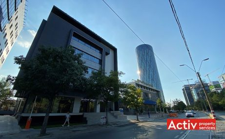 Zone 313 birouri de inchiriat vedere panoramica spre Promenada Mall