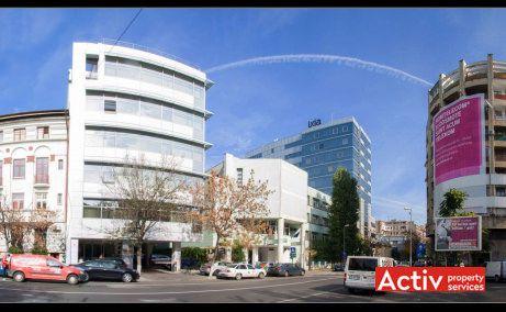 Domus Business Center, vedere acces rutier catre Sala Palatului
