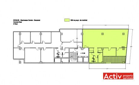 Domus Business Center, plan etaj