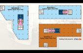 EXPO Business Park, spatii birouri de inchiriat Bucuresti nord, plan general proiect