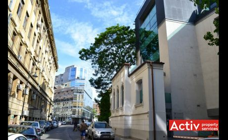 Filipescu Office Building, Filipescu 28, acces rutier