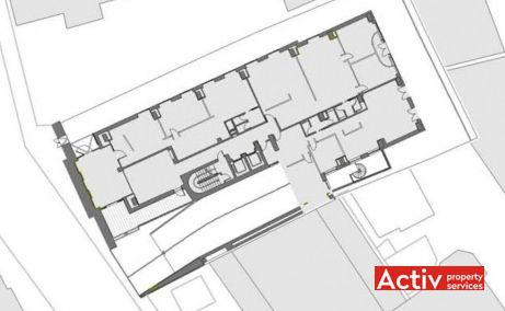 Filipescu Office Building, Filipescu 28, plan amplasament