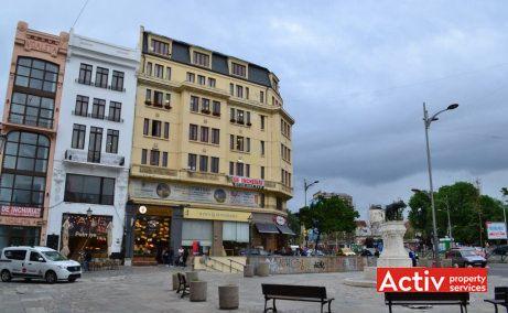 Lipscani 79 spatii de birouri de inchiriat metrou Bucuresti zona centrala vedere intrare pasaj