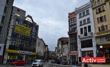 Lipscani 79 spatii de birouri de inchiriat Bucuresti central poza cale de acces