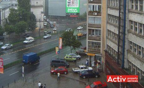 Lipscani 79 inchiriere spatii de birouri metrou Bucuresti central vedere din cladire