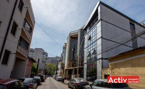 Scarlatescu 21, cladire de birouri de vanzare, zona Pietei Victoriei, vedere catre Soseaua Nicolae Titulescu