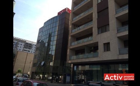 Apostol Office Building, spatii birouri de inchiriat Bucuresti vest, vedere stradala