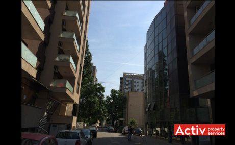 Apostol Office Building, cladire de birouri de vanzare, vedere acces
