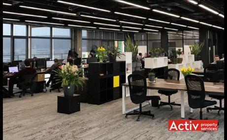 Multinvest Business Center 2, spatii birouri de inchiriat Targu Mures, vedere etaj interior