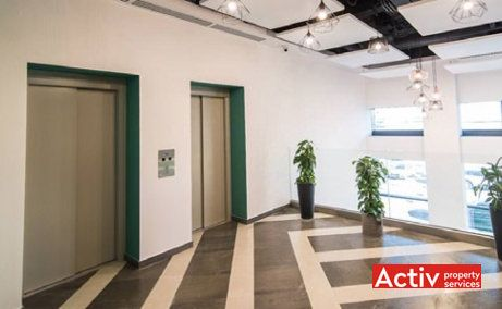 Multinvest Business Center 2, spatii birouri de inchiriat Targu Mures, vedere zona lifturi