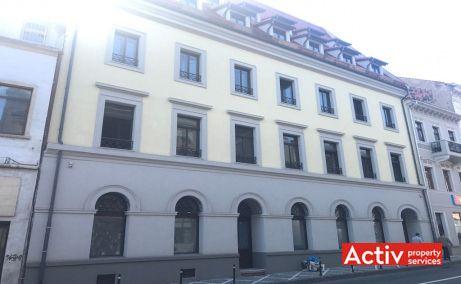 Muresenilor 8 spatii de birouri de inchiriat Brasov zona centrala poza fatada cladire