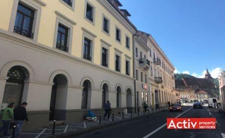 Muresenilor 8 spatii de birouri de inchiriat Brasov central vedere cale de acces