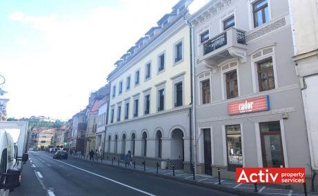 Muresenilor 8 spatii de birouri de inchiriat Brasov zona centrala vedere din Str. Muresenilor