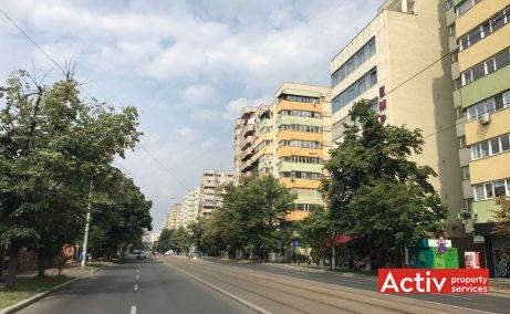Empire Tower cladire de birouri de vanzare Bucuresti est vedere cale de acces