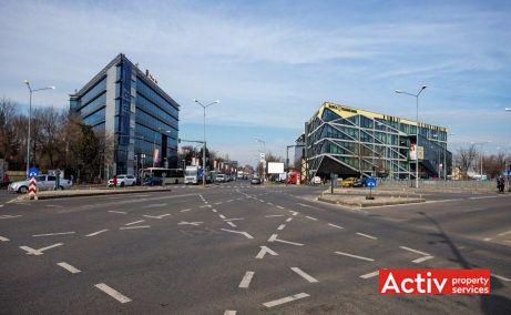 Băneasa Airport Tower spații birouri intersecția Sos. București-Ploiești (DN1) cu Bulevardul Ion Ionescu de la Brad