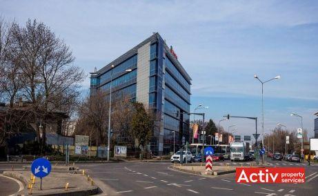 Băneasa Airport Tower închirieri birouri București nord perspectiva încadrare în zonă